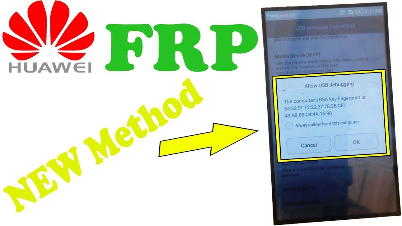 HUAWEI Y3ii (LUA-U22) Remove FRP New Easy Method