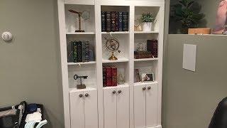 My secret hidden door in bookcase.