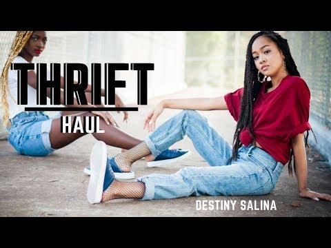 Thrift Try-On Haul | Tommy Hilfiger , Calvin Klein, etc.