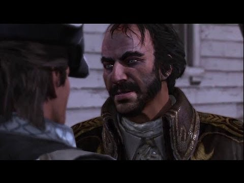 Assassin's Creed III -  Ratonhnhaké:ton (Connor) Haytham Kenway Funeral, Charles Lee Gameplay PS3
