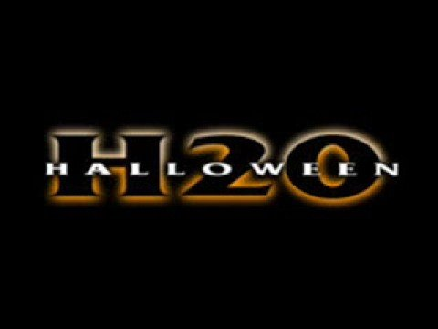 Hallowen H20 1998 music score opening