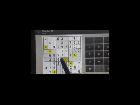 Sudoku Solver - Sudoku Easy # 1