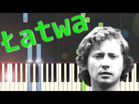 🎹 Dni, których nie znamy (Marek Grechuta) - Piano Tutorial (łatwa wersja) 🎹