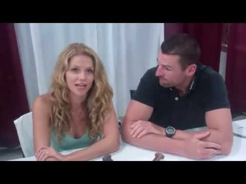 Spartacus: Ellen Hollman, Stephen Dunlevy at Florida Supercon 2014