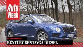 Bentley Bentayga Diesel (2017) - AutoWeek Review - English subtitles