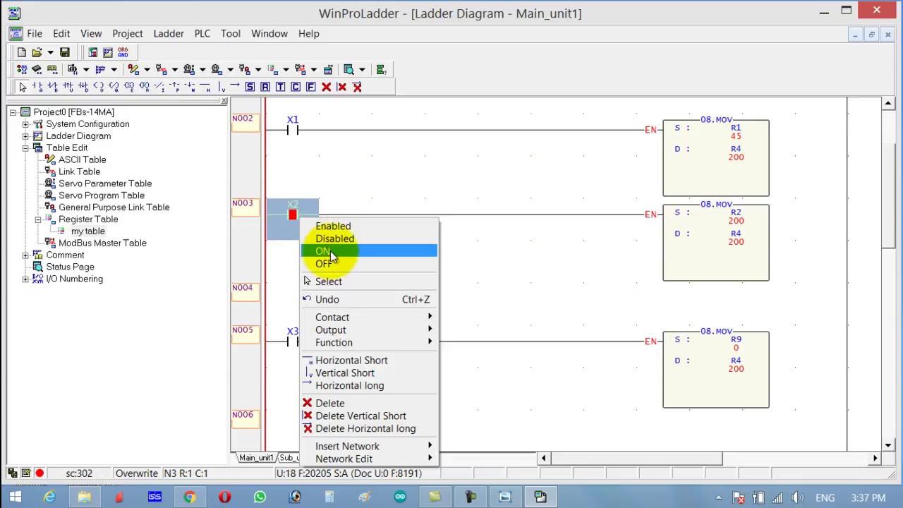 PLC ladder logic programming tutorial# 10: Data Movement | PLC MOV  instruction