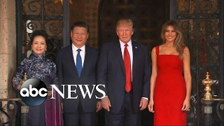 President Trump meets with Chinese President Xi Jinping