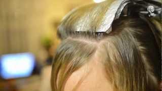 Мелирование волос на себе (щадящее)(, 2013-03-18T20:20:38.000Z)