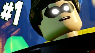 LEGO Dimensions - Part 1 Prologue BATMAN RETURNS! (Wii U Walkthrough)