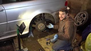 Замена задних тормозных колодок BMW e46