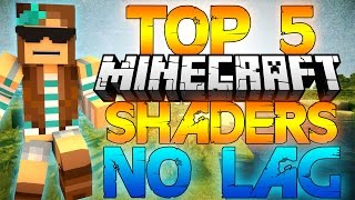 (OUTDATED)Top 5 Minecraft Shader Packs 1.7.4/1.7.10/1.8!(NO LAG) HIGH FPS+ [DOWNLOAD LINKS]