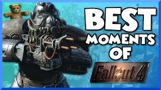 The Best Moments of Fallout 4 - Funny Moments, Adventures, Glitches, Fails, and More