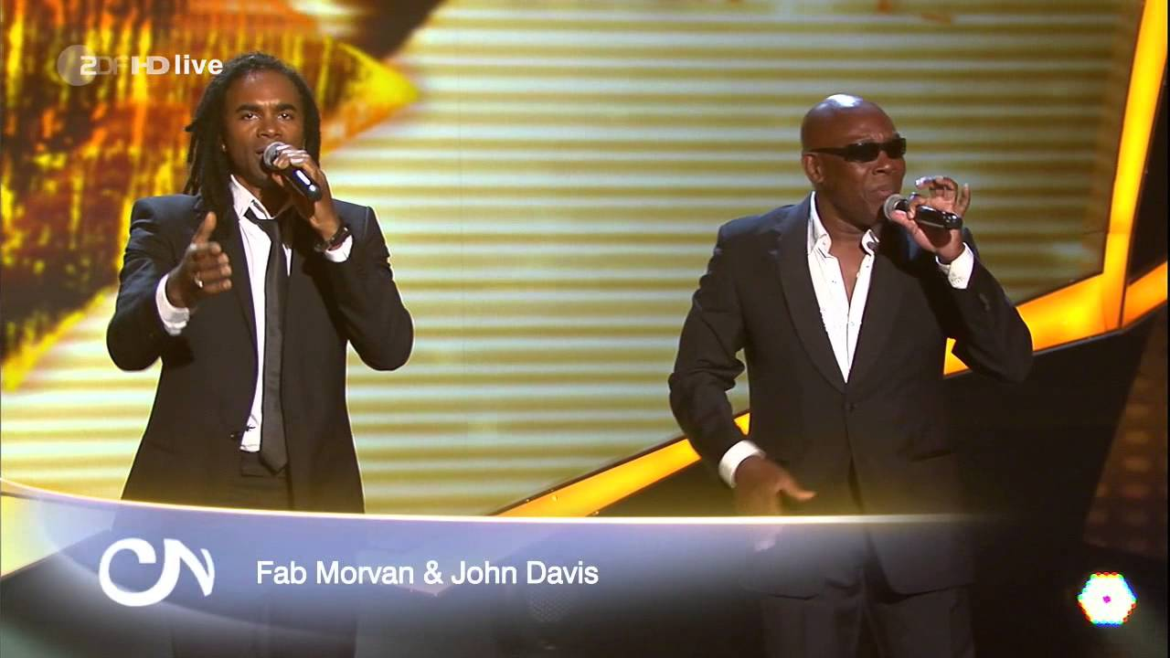 Fab Morvan & John Davis Milli Vanilli Medley LIVE on Willkommen