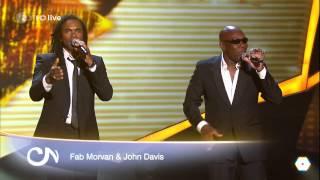 Fab Morvan & John Davis - Milli Vanilli Medley (LIVE on Willkommen bei Carmen Nebel, May 16th, 2015)