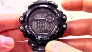 Годинник Q&Q M151-003 [M151 J003] - Інструкція, як налаштувати від PresidentWatches.Ru