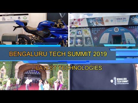 BENGALURU TECH SUMMIT 2019 |18th TO 20th NOV |PALACE GROUND |STALL VISIT :  BANGALORE MOTOVLOGS