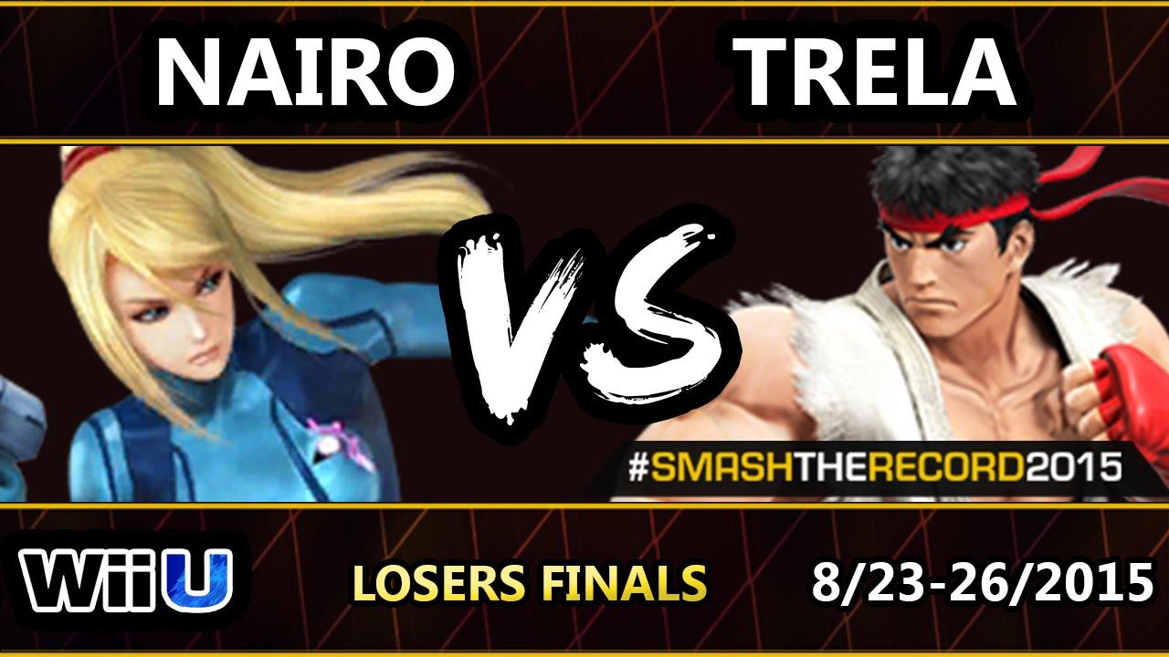 STR2015 - Liquid Nairo (ZSS) Vs. SU | Trela (Ryu) SSB4 Losers Finals - Smash Wii U - Smash 4