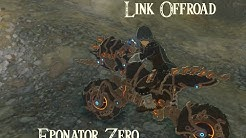 Zelda Breath of the Wild Link Offroad mit dem Eponator Zero