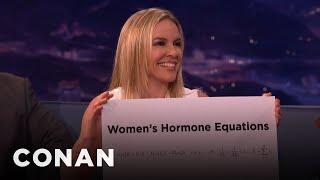 Sex Mathematician Clio Cresswell: Women's Hormone Equations vs. Men's Hormone Equ...  - CONAN on TBS