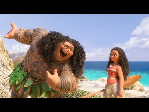 Moana - You're Welcome - Dwayne Johnson Sings! | official FIRST LOOK clip (2016) Disney Animation