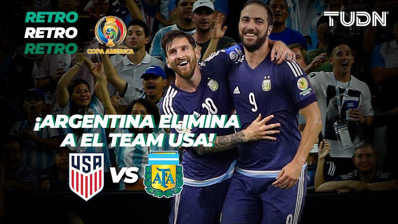 Download Fiebre de Copa América: ¡Con goleada! Argentina exhibe y elimina a Estados Unidos | Retro 2016