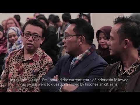 Temu Wicara Kang Emil bersama Warga Indonesia di Melbourne