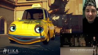 Fika Entertainment - Realtime Animation with Chatty Taxi