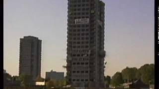 Demolition Fail  - Thames News - Hackney