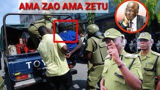 Waliosambaza taharuki ya halimbaya ya Rais wamekwisha,Polisi wawaibukia mtaa kwa mtaa!