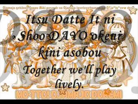 Ojamajo doremi sharp opening full w/ lyrics