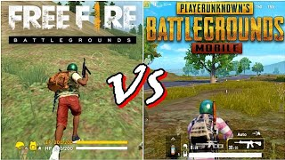 Free Fire VS PUBG mobile Game Comparison