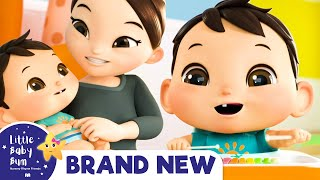 Baby Max Song - See Him Laugh and Play | Brand New | ABCs and 123s | Little Baby Bum