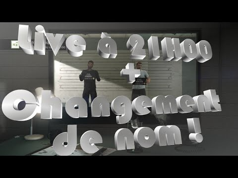 live a 20h30 changement du nom de la cha ne youtube. Black Bedroom Furniture Sets. Home Design Ideas