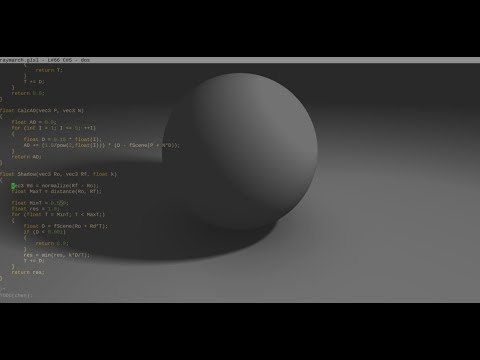 Shaderian introduction: a GLSL live coding environment