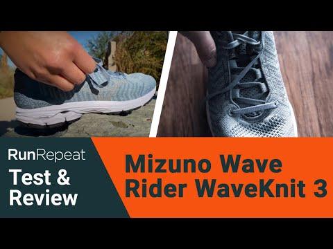 mizuno wave rider 18 m test