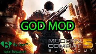 Modern Combat 5 v2.5.1a | GOD MOD -  Android