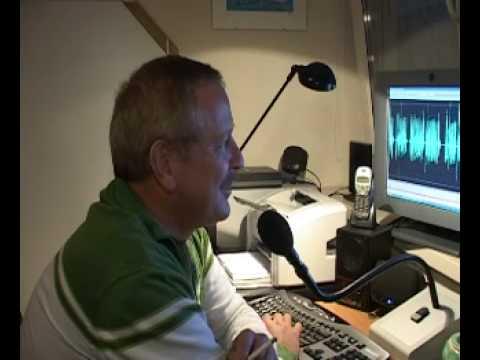 DKTV: Op bezoek bij NS omroeper Arie Leeman