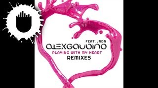 Alex Gaudino feat. JRDN - Playing With My Heart (Simon De Jano Remix) (Cover Art)