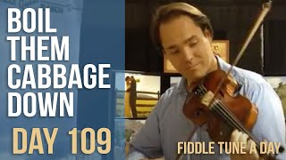 Boil The Cabbage Down - Fiddle Tune a Day - Day 109