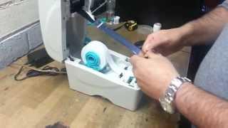 видео Термотрансферный принтер TSC TTP-225