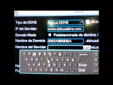 Configuracion del DDNS Dahua   Dahua sin IP (Fija)