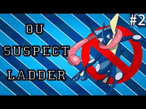 Pokemon ORAS OU Showdown Live: Greninja Suspect #2 ft. blunder