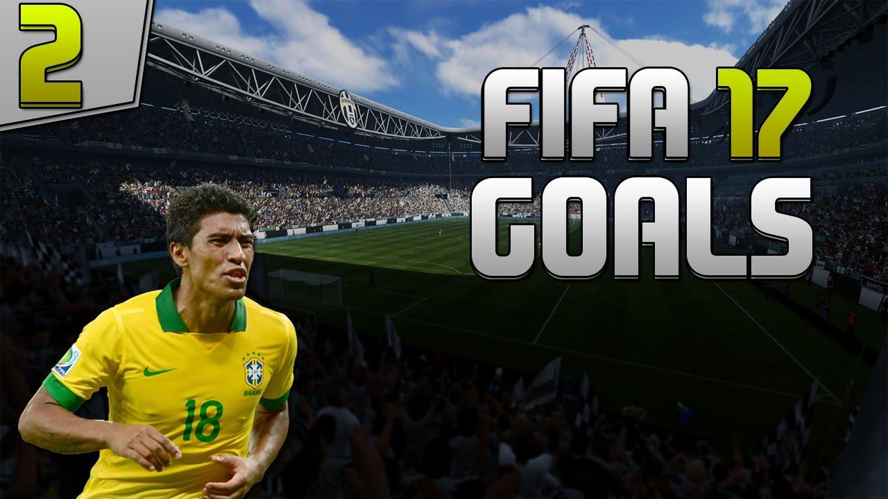 Fifa 17 - Amazing goals - Paulinho beautiful free kick ...