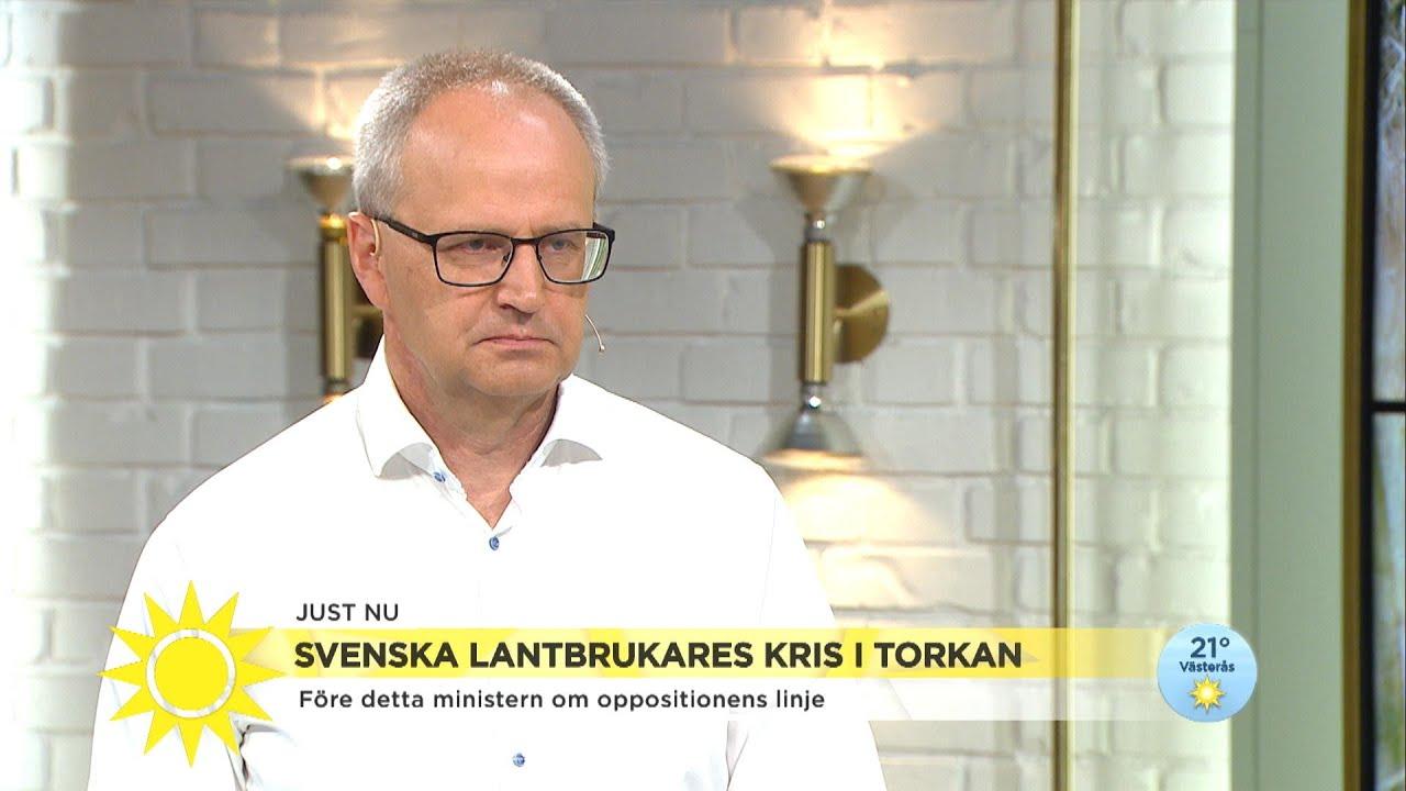 """Svenska bönder kan nekas krispengar från EU: """"Budgeten är ansträngd"""" - Nyhetsmorgon (TV4)"""