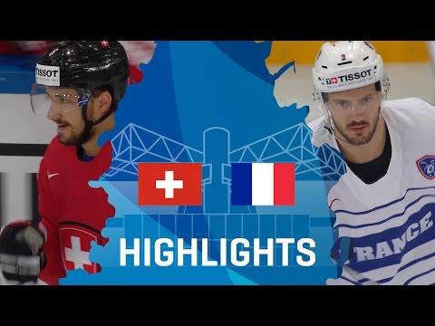 Switzerland - France   Highlights   #IIHFWorlds 2017