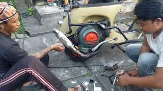 Download Salut ‼️ Seniman restorasi Vespa   Scooter 068 Community Bali