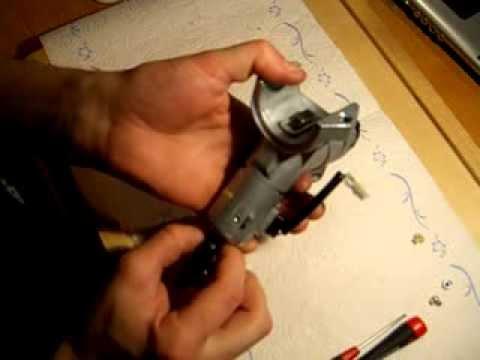 tutorial reparatur lenkradschloss nissan micra k12 - youtube