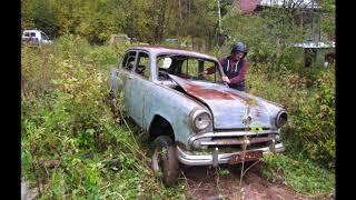 Заброшенные авто.Призрак одинокий /Найден ранний москвич, 410!