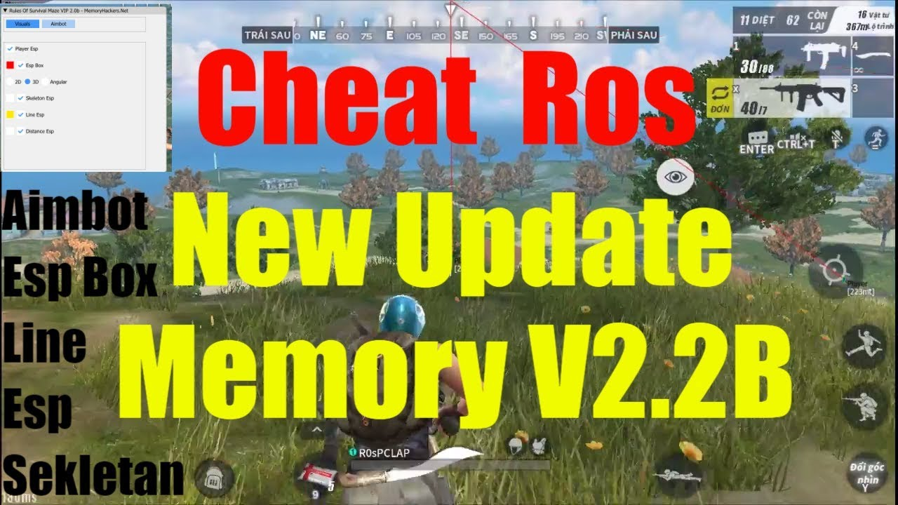 Download Ros Pc Lap Hack Ros New 10 2018 Memory V2 2b Aimbot No Ban 100 How To Hack Rules Of Survival 1447 Imagesperfectglasscom