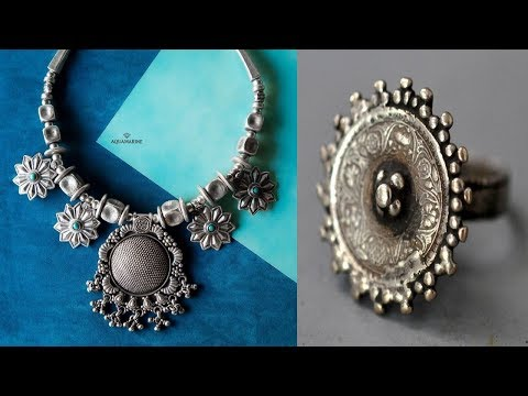 Ethnic Fashion Silver Jewellery Design 2018